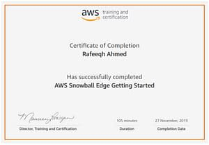 AWS Snowball Edge Getting Started