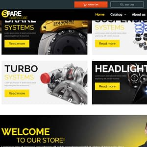 car spares joomla virtuemart template 01