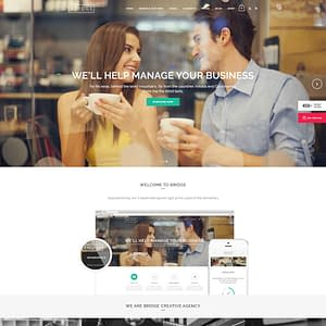 bridge wordpress theme - multipurpose wordpress theme 01