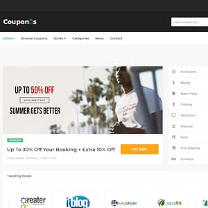 couponis coupons and deals wordpress theme 01