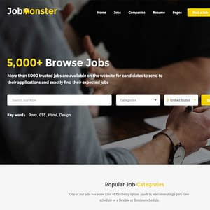 jobmonster job board wordpress theme 01