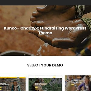 kunco charity theme wordpress charity themes 01