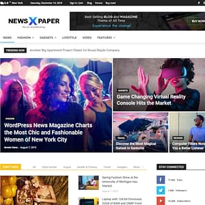 newspaper wordpress theme 01