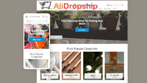 Alidropship - Smart Theme Woo