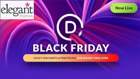 Elegant Themes - Black Friday Deals