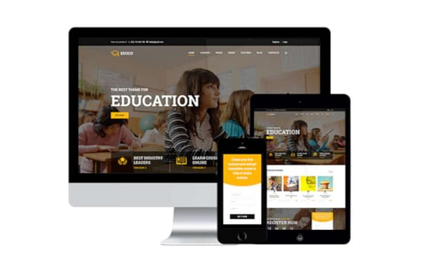 wordpress lms theme for online courses 01