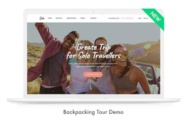 wordpress travel booking theme 01
