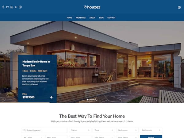 16 wordpress real estate themes