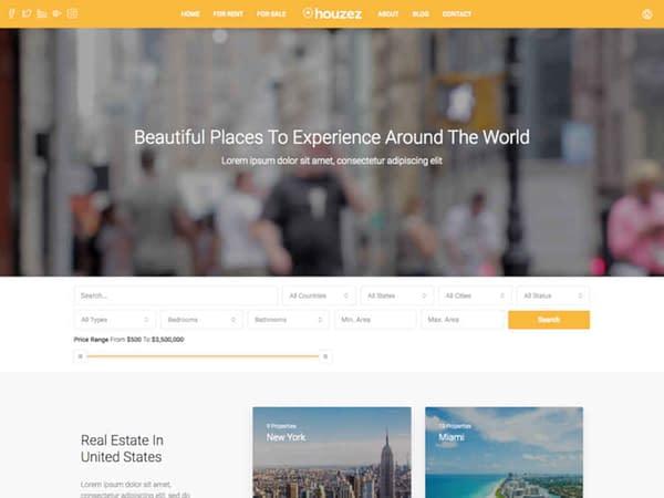 17 wordpress real estate themes