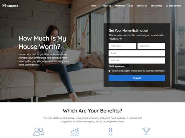 19 real estate wordpress theme