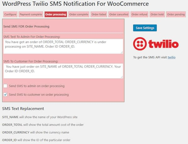 04 woocommerce sms notifications