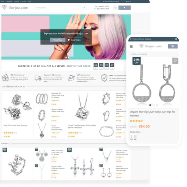 alidropship custom store - ready made dropshipping stores 02
