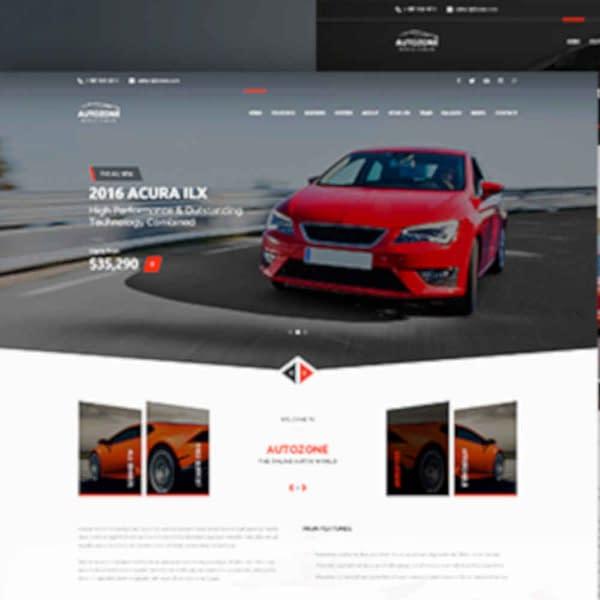 autozone car dealer wordpress theme car rental wordpress theme 01