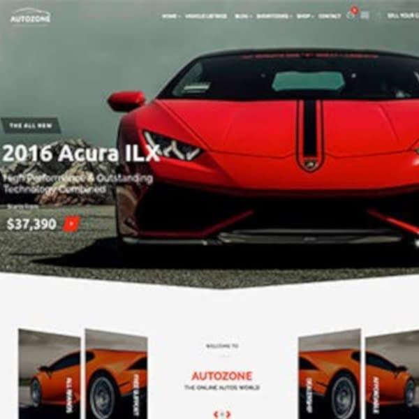 autozone car dealer wordpress theme car rental wordpress theme 02