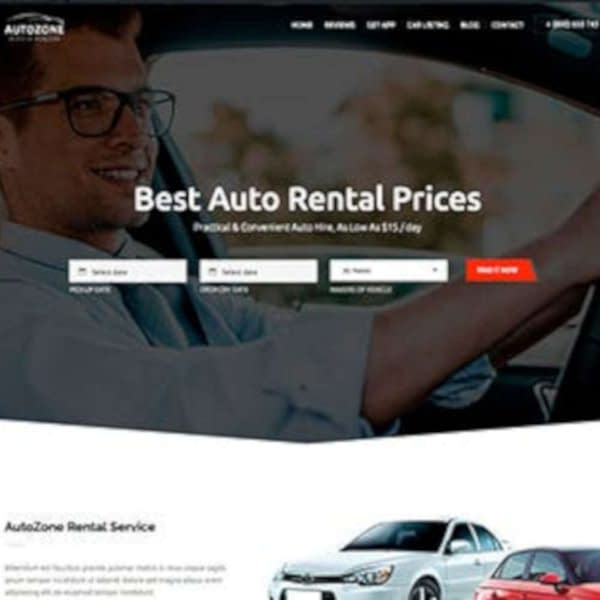 autozone car dealer wordpress theme car rental wordpress theme 03