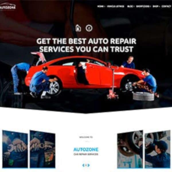 auto dealer wordpress theme 01