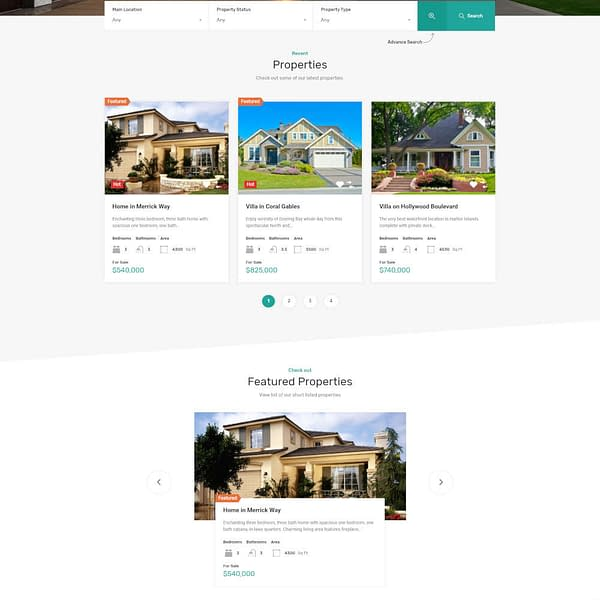 real homes wordpress theme real estate wordpress theme 02
