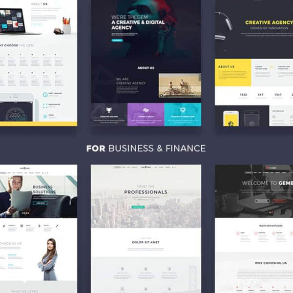 the gem multipurpose theme 01