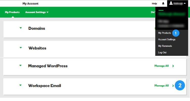 Fig : 01 Configure Email Client for Business Email