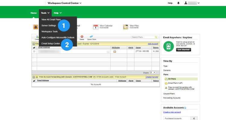 Fig : 02 Configure Email Client for Business Email