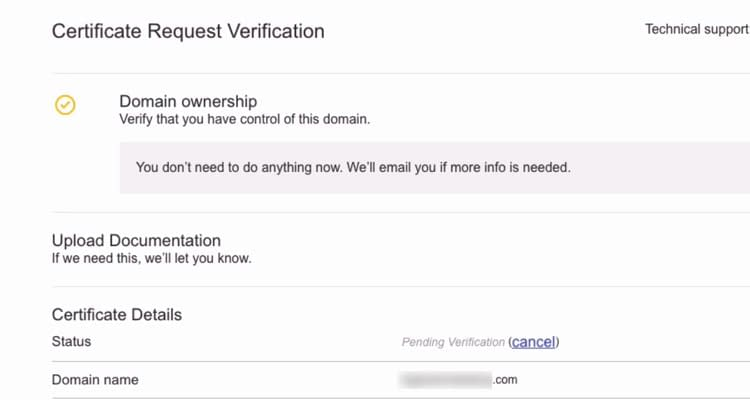 Fig. 05: Purchase SSL Certificate
