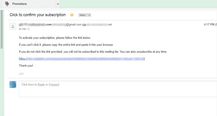 Fig. 03: Email Marketing - Configure WordPress Newsletter Widget