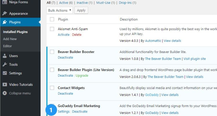 Fig. 03: Email Marketing - Install and Configure WordPress Newsletter Plugin