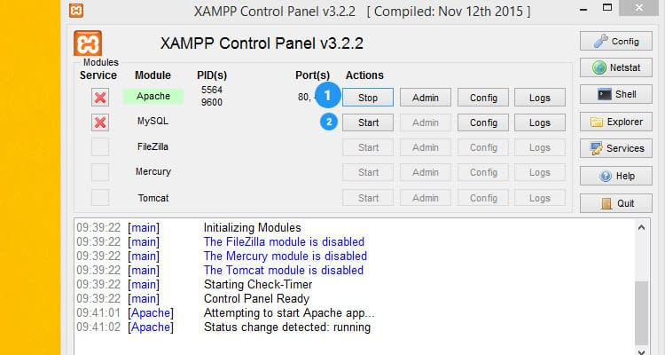 Fig. 01: Install Magento 2 in XAMPP with Sample data