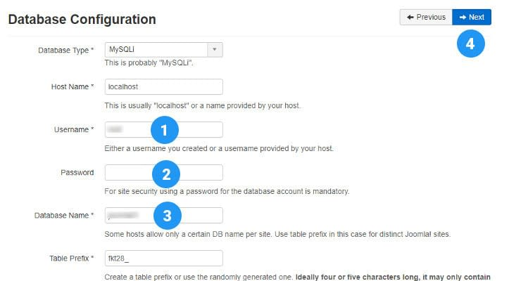 Fig. 05: How to Install Joomla manually in Cpanel