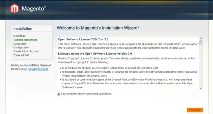 Fig. 01: How to install Magento 1.9.x in cPanel