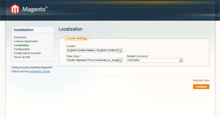 Fig. 02: How to install Magento 1.9.x in cPanel