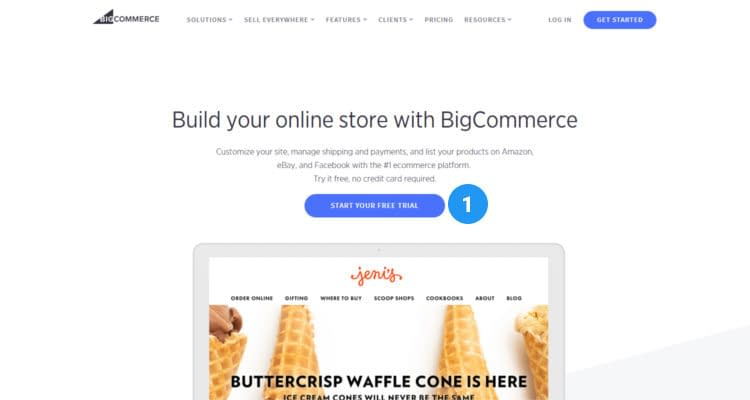 Fig. 01: How to start Bigcommerce online store