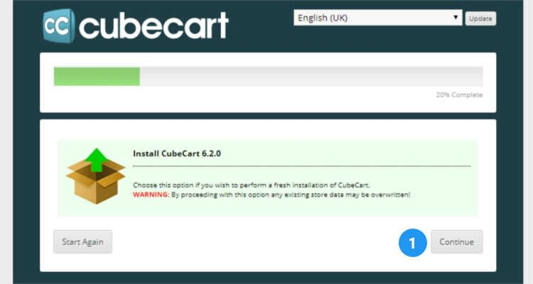 Fig. 02: How to install Cubecart in cPanel