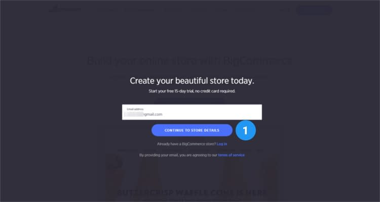 Fig. 02: How to start Bigcommerce online store