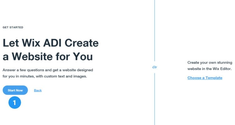 Fig. 07: How to start a Wix online store
