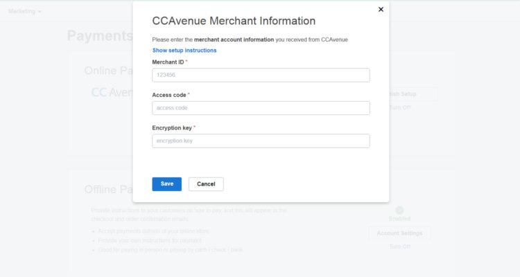 ccavenue payment gateway integration 03