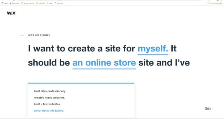 06 How to start a Wix online store