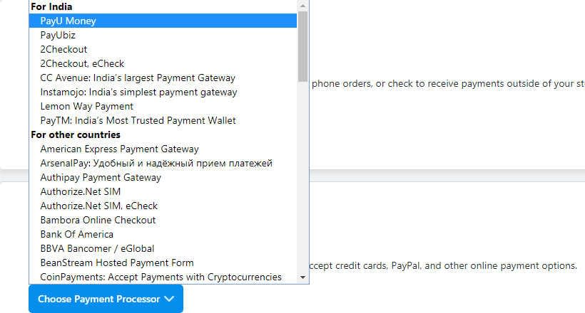 03 How to start an Ecwid online store - Payments