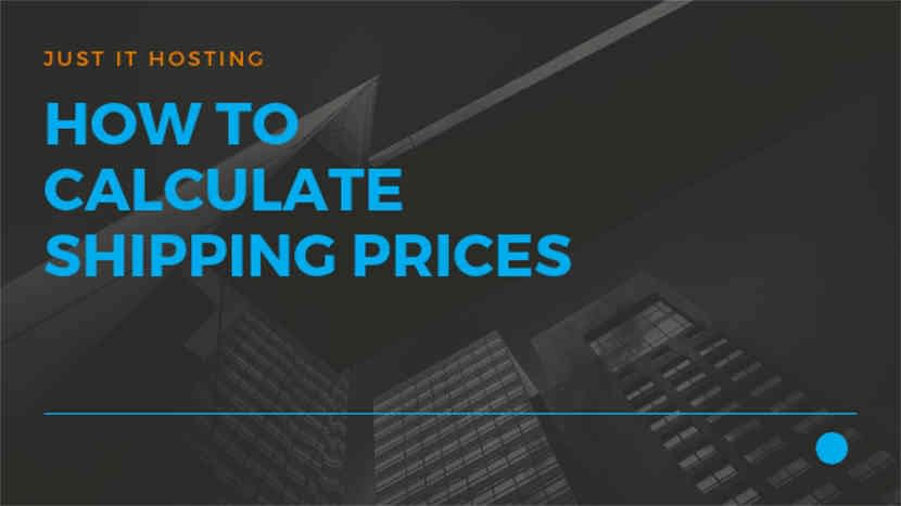 How to calculate Shipping Prices
