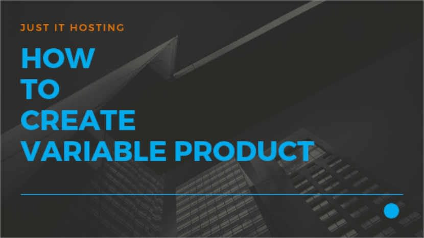 How to create Variable Product