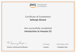 Intoduction to Amazon S3