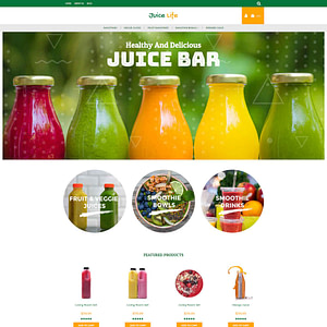 juice and smoothies 3dcart themes 01