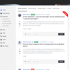 discy - social questions and answers wordpress theme 01