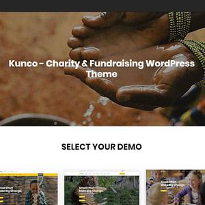 kunco charity theme wordpress charity themes 01