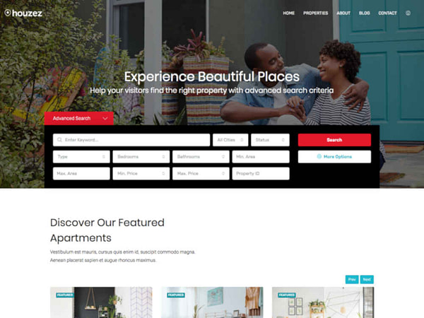 15 wordpress real estate themes