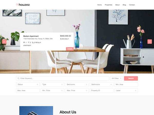 18 real estate wordpress theme