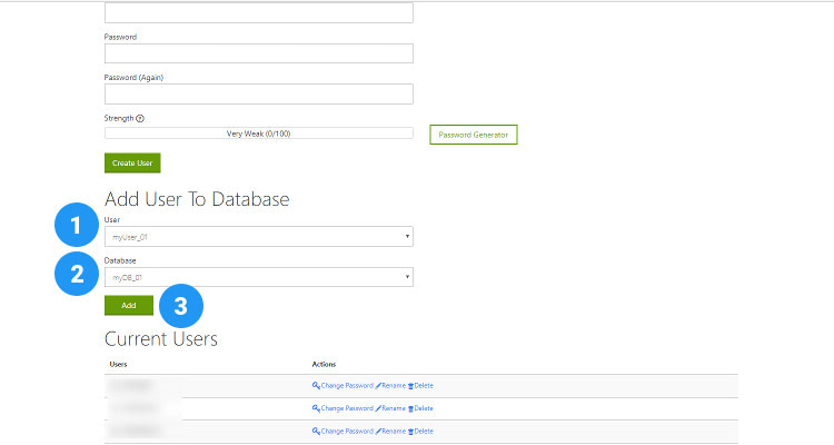 Fig 06 : How to Create a Database using cPanel