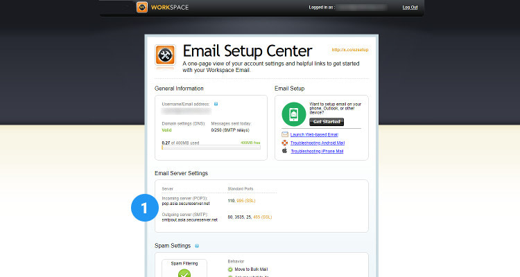 Fig : 04 Configure Email Client for Business Email