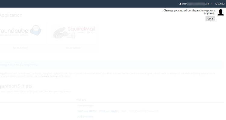 Fig 08 : How to Create new email account using cPanel