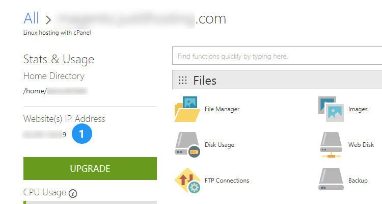 Fig 01: Add a Dedicated IP address